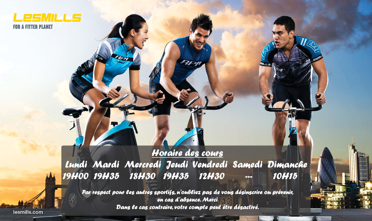 RPM - LesMills @Dynamic Center